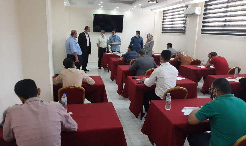 نقابة المحامين الشرعيين تشرف على امتحانات الاكمال لمزاولة مهنة المحاماة الشرعية